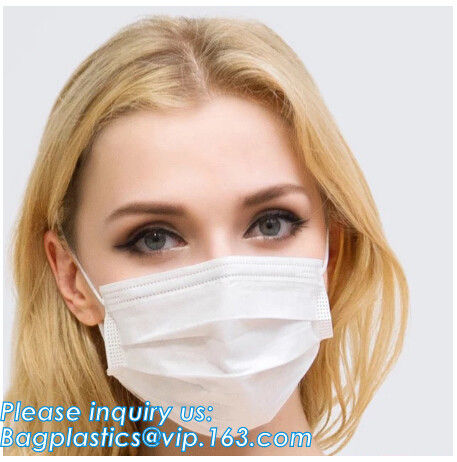 medical consumables disposable 3 Ply Surgical Non-Woven Medical face masks,Non-woven 2ply /3 ply ear loop medical dispos