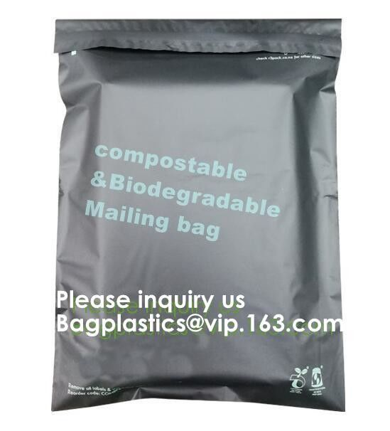 Printed Biodegradable Mailing Bags Shipping Packaging Mailer Courier